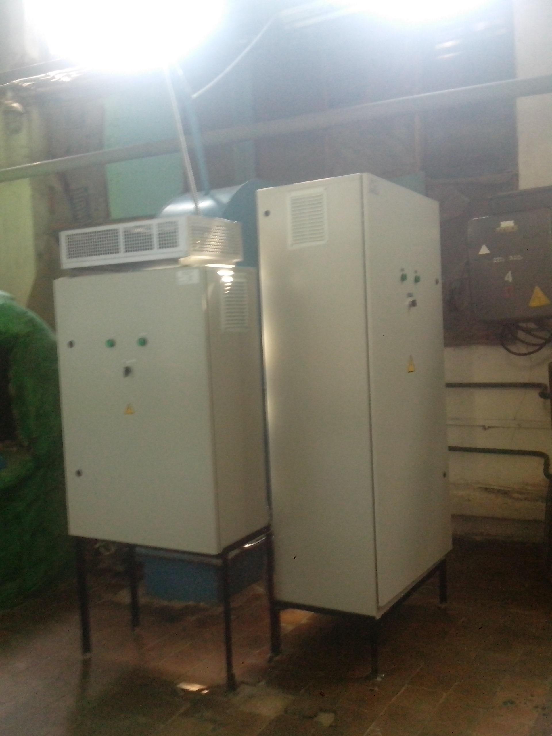 Шкаф управления насосом и вентилятором