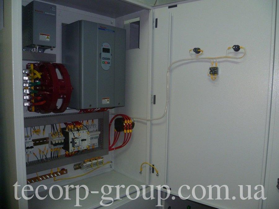 еконструкция контельных с установкой частотно регулируемых приводов для управления вентиляторами, дымососами и насосами подпитки