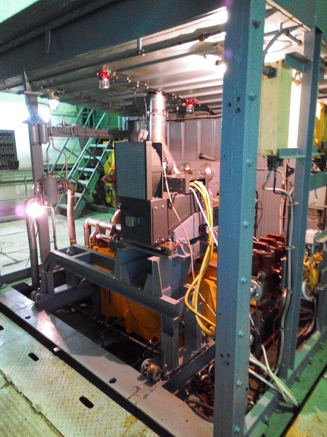 Газотурбинный двигатель - один из основных компонентов при транспортировке газа в газопроводе.