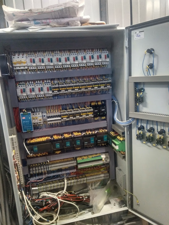 шкаф управления контрольно измерительными приборами